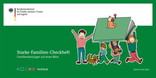 Starke-Familien-Checkheft Familienleistungen auf einen Blick